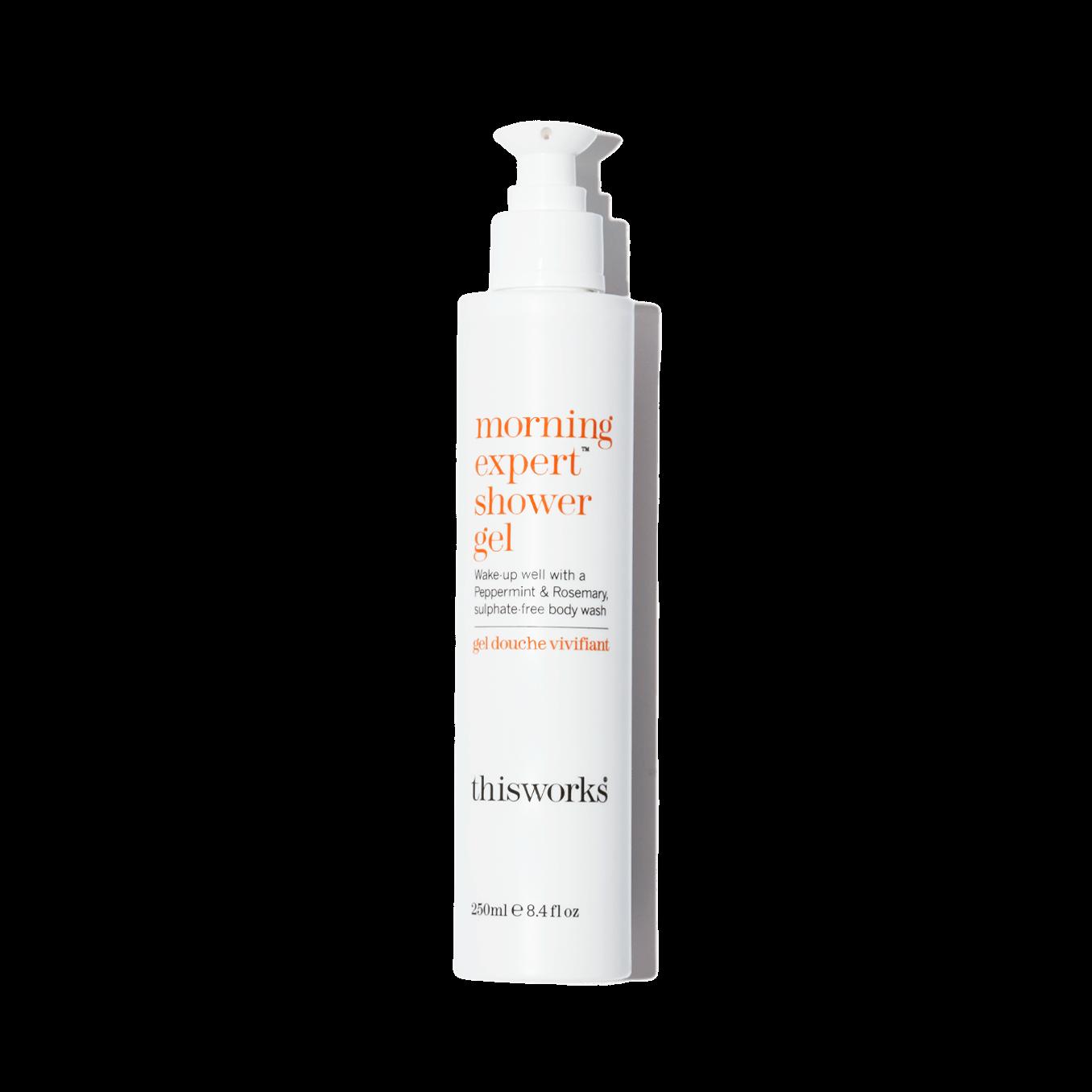 morning expert shower gel