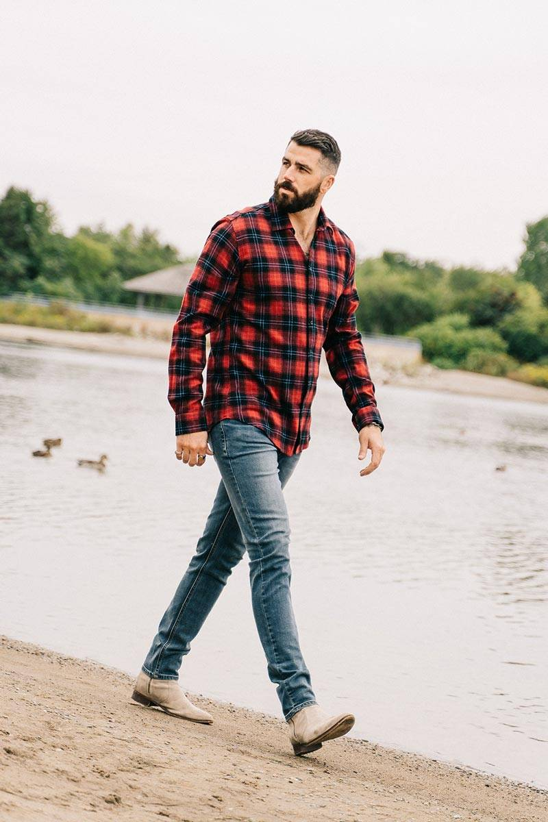 tall-guys-red-flannel-shirt