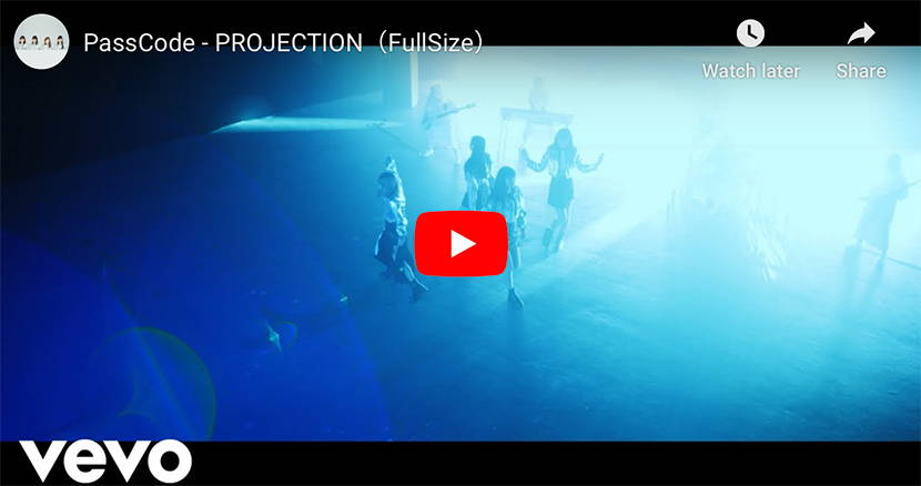 PassCode Projection music video thumbnail