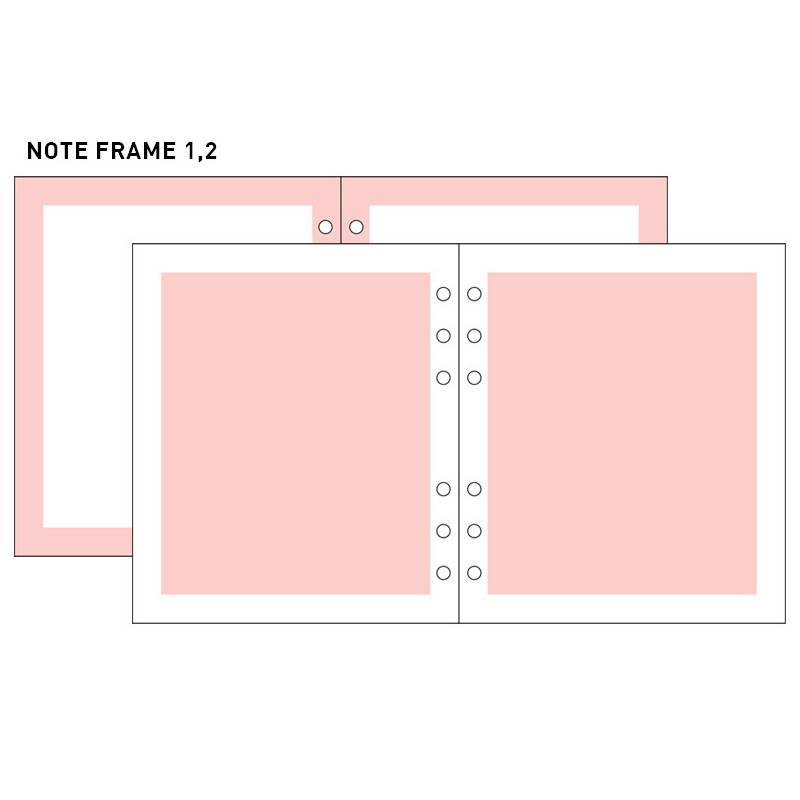 Note frame 1,2 - 2NUL-Cherry-pick-6-ring-dateless-weekly-diary-planner-