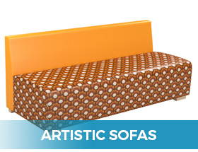 ARtistic, unique Sofas