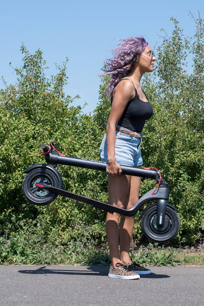 體面的 X7 踏板車折疊機 6