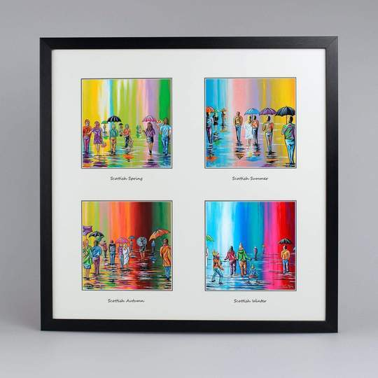 Steven Brown Framed Multi Prints - Wall Art Collection