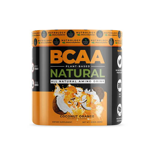 bcaa natural coconut orange