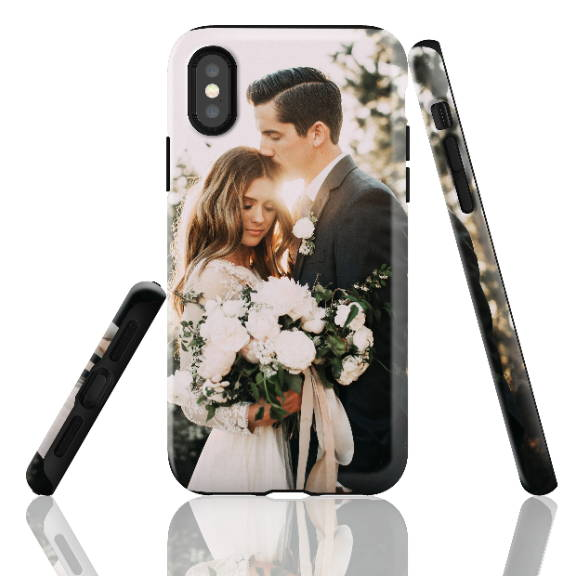 Custom iPhone X Wedding Case