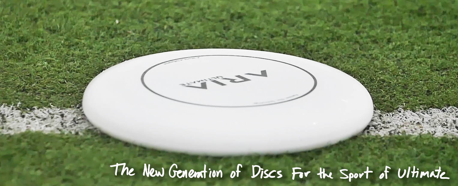 ARIA professional official ultimate flying disc for the sport commonly known as 'ultimate frisbee' shop ultimate discs store