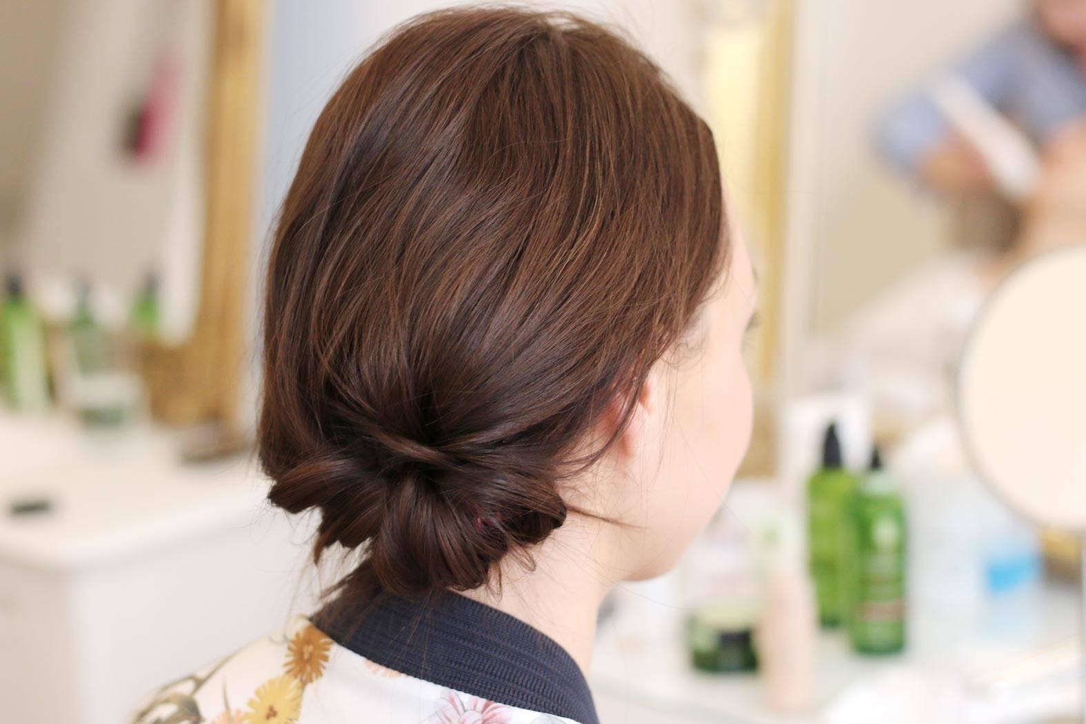 schlichte frisur fürs büro oder meetings erlernen im business hairstyling workshop