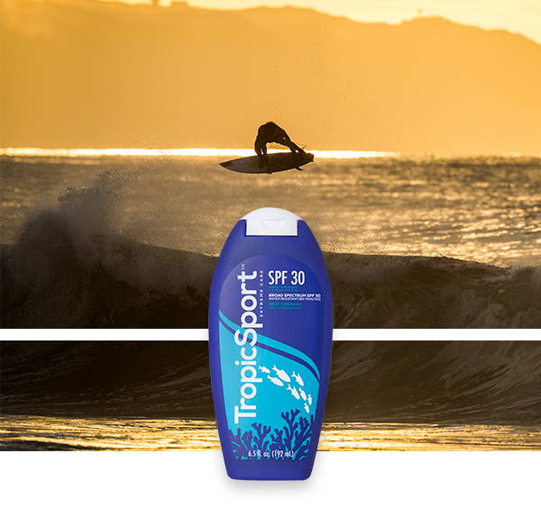 TropicSport Pro Surfer with SPF 30 Sunscreen
