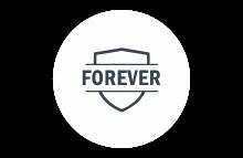guaranteed forever badge