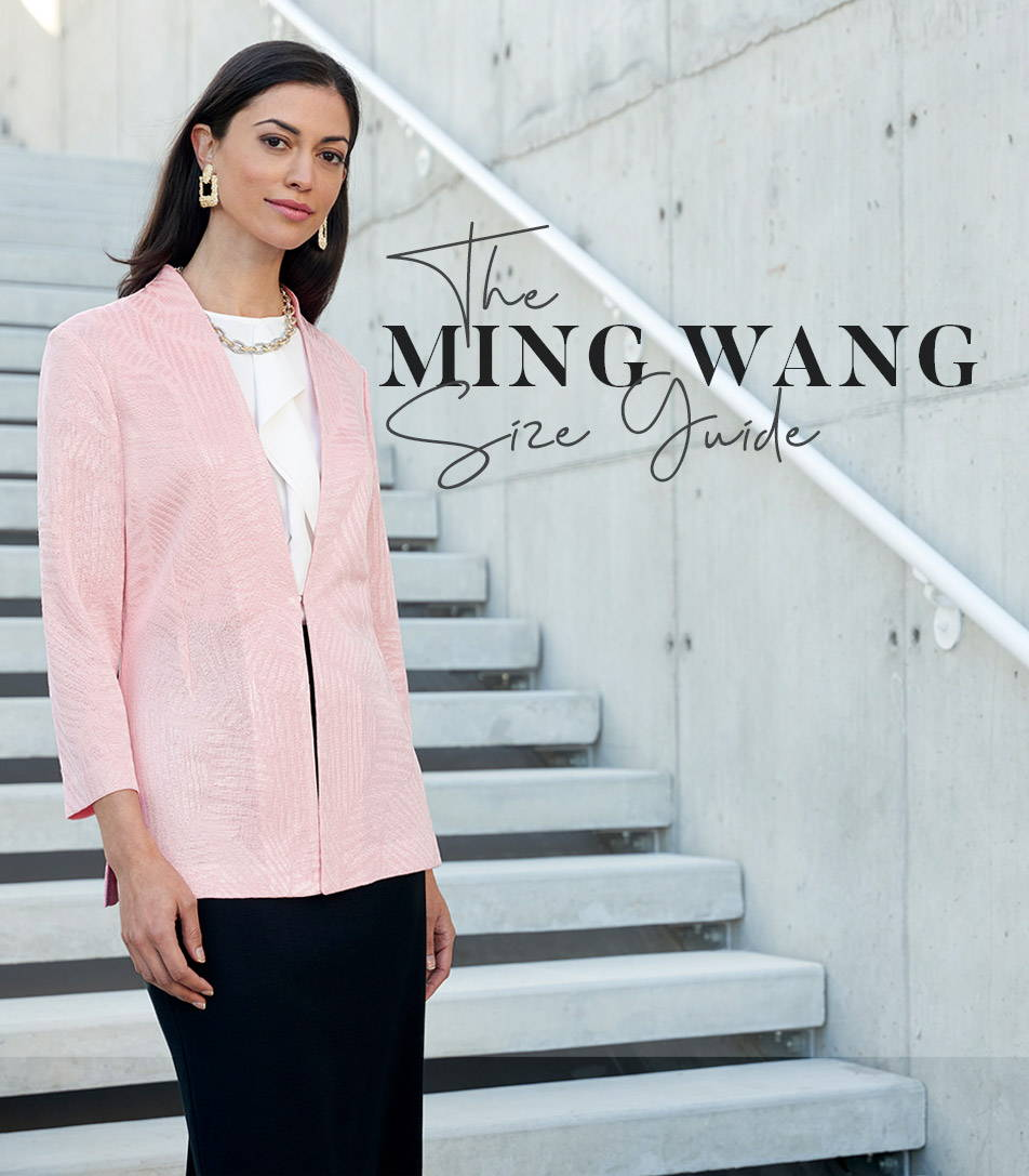 The Ming Wang Size Guide