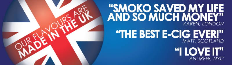 The UK's Best E Cigarette Easy To Use and Effective – SMOKO