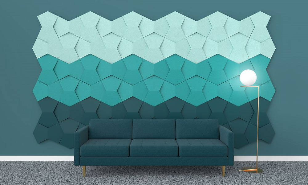 Fluffo 3D soft wall panel Model Chain