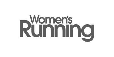 Women's Running Grey Logo