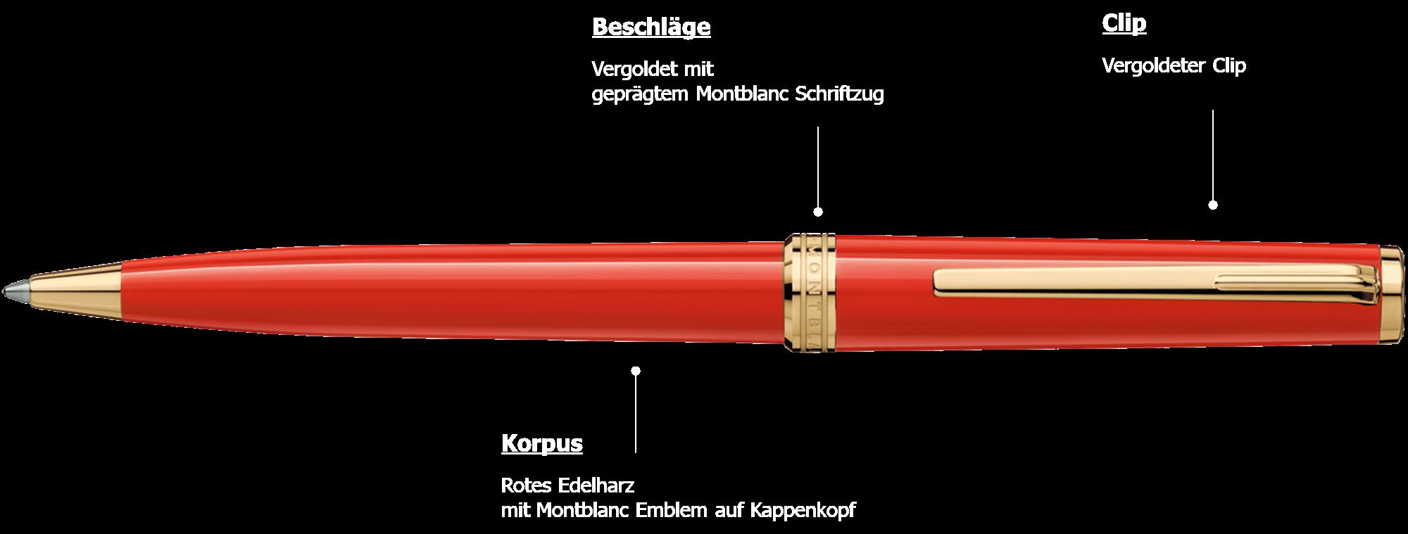 Montblanc PIX Red