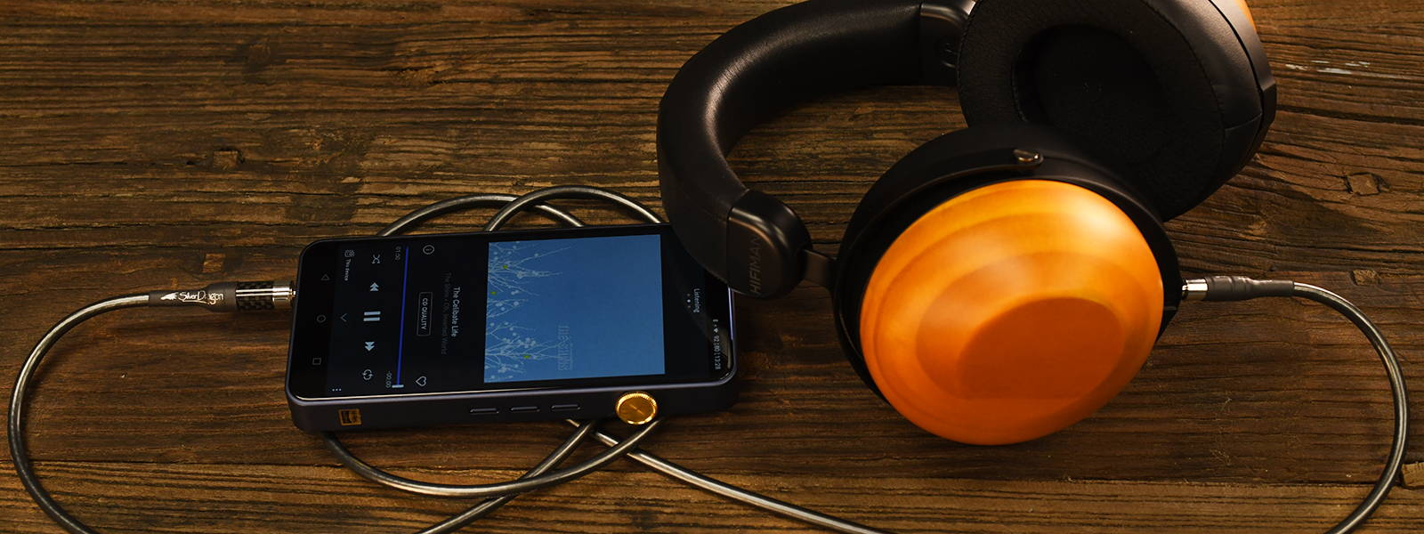 R10D headphone with iBasso DX300 DAP