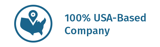 100% USA Based Company