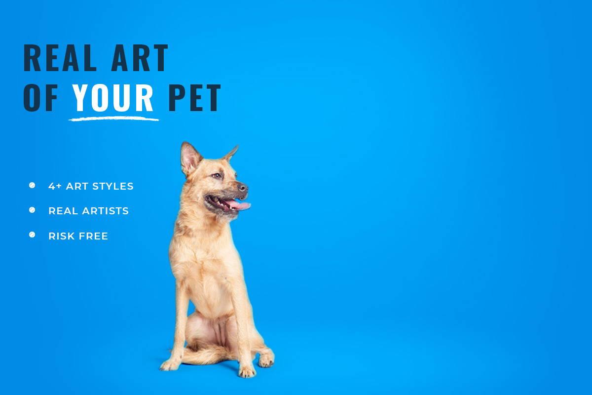 custom dog art company
