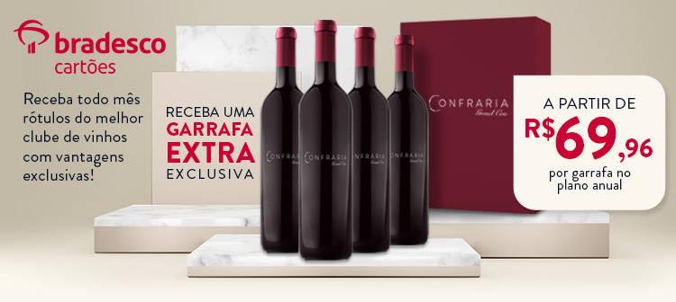 Receba todo mês rótulos do melho clube de vinhos com vantagens exclusivas