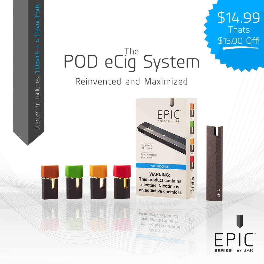 Superior Auto Wholesalers >> EPIC Starter Kit Launch Special 4 POD EPIC Device