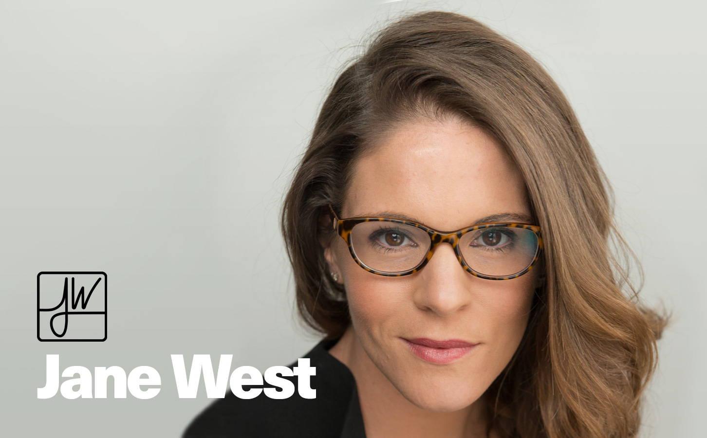 Jane West bong designer