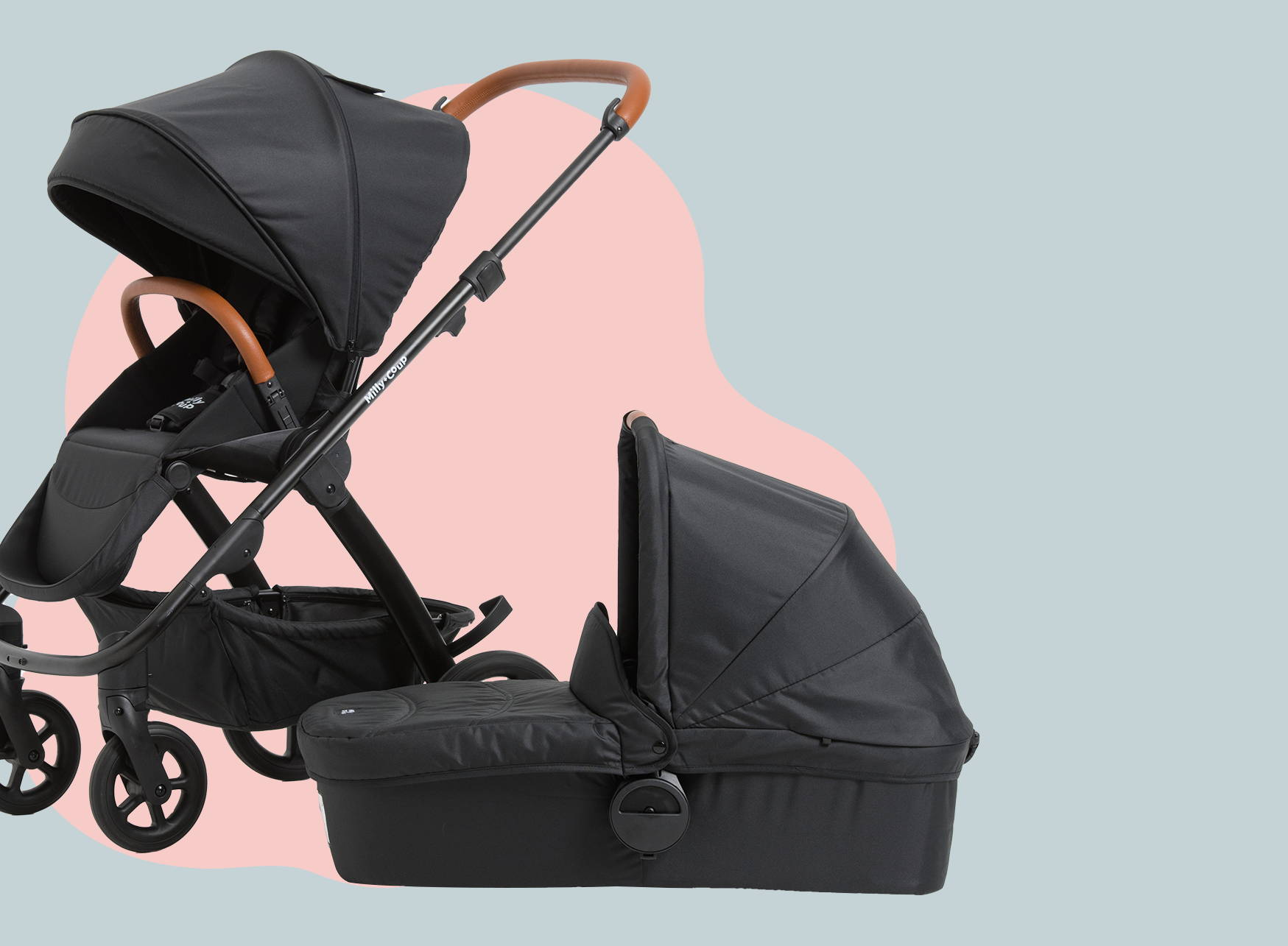 The stroller designed to make your life easy!