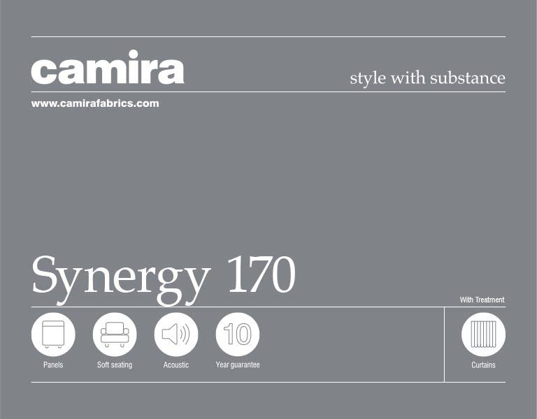 Click here to view the Camira Synergy 170 Acoustic Fabric Swatch