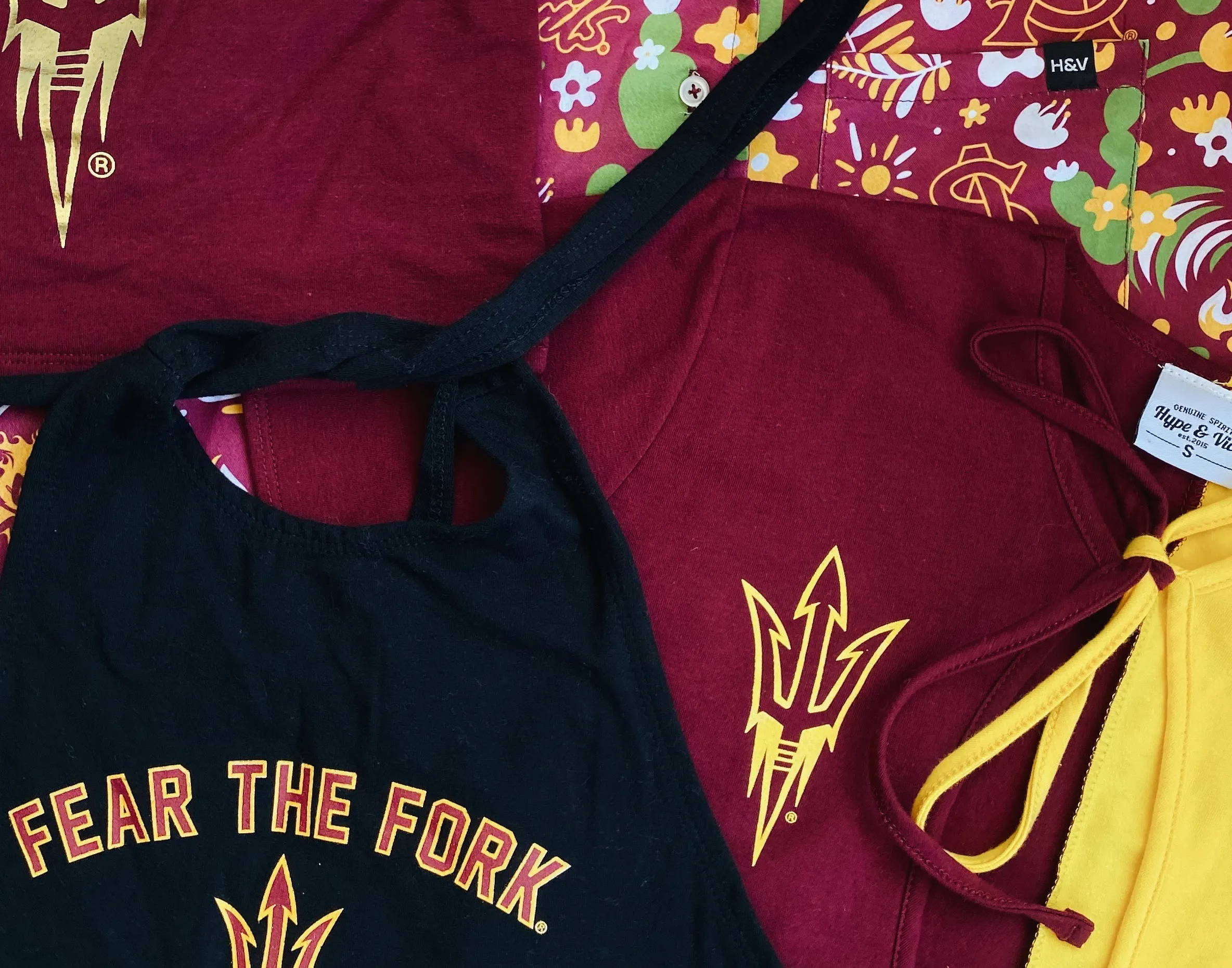 arizona state university asu apparel for women