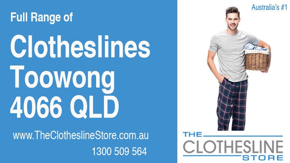 New Clotheslines in Toowong Queensland 4066