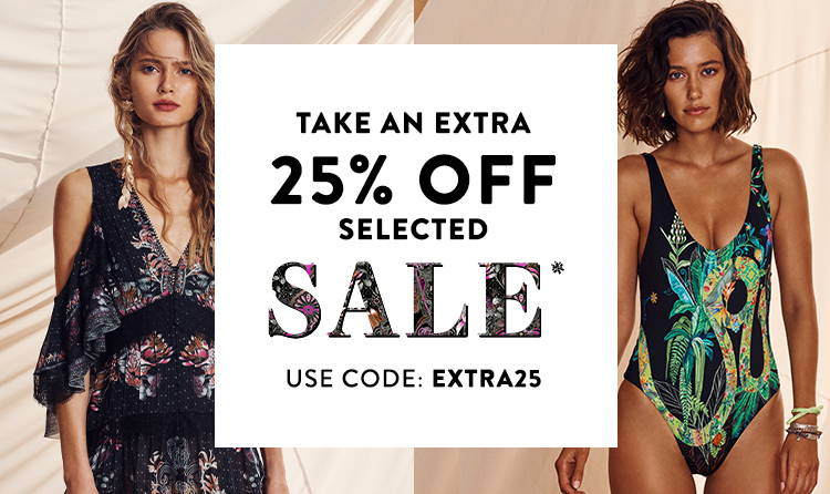 TAKE AN EXTRA 25% OFF SELECTED SALE*