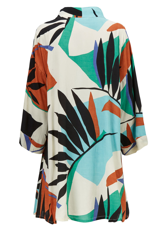 Josslyn Kimono - Back - Ghost Image