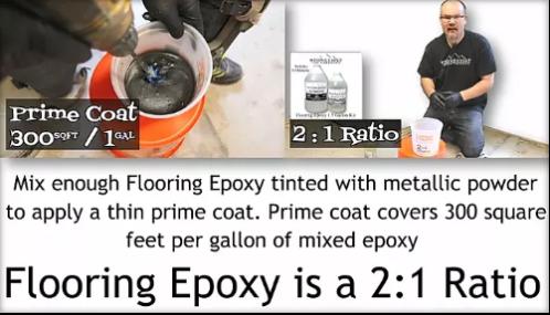 How to Apply Epoxy Flooring
