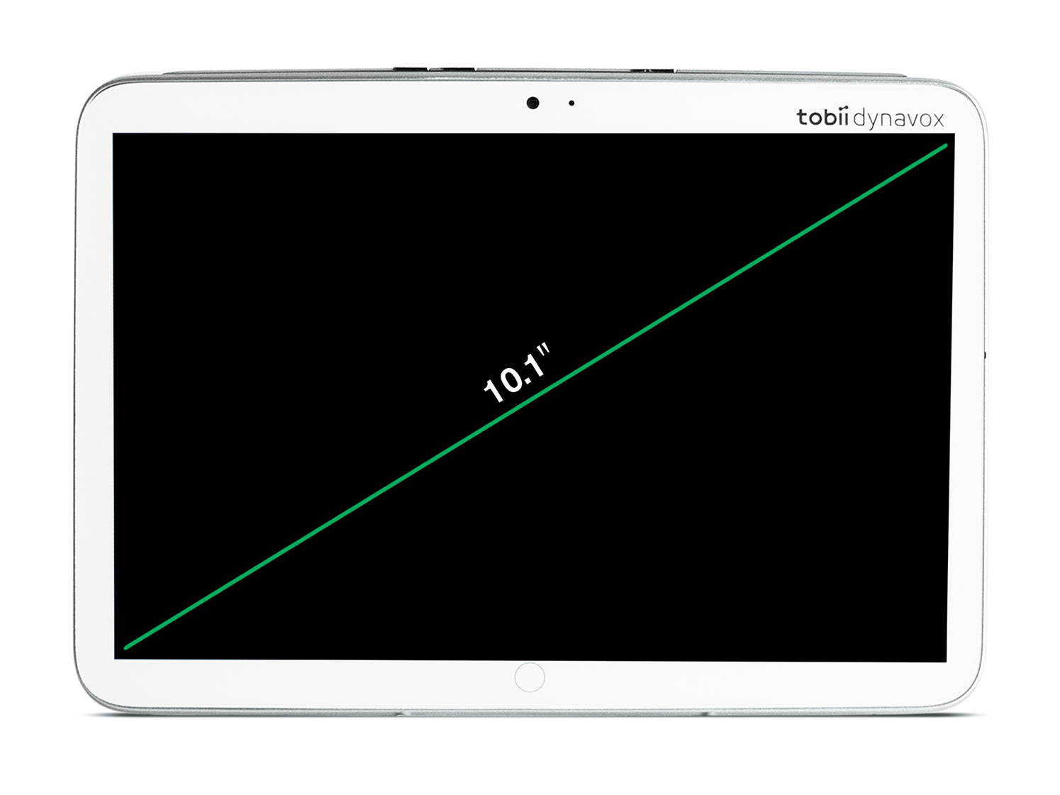 The Tobii Dynavox Indi has a 10.1 inch display