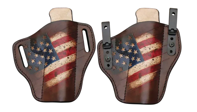 OWB leather holster