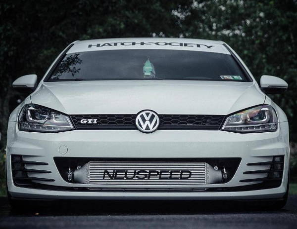 VW with Neuspeed Intakes & Piping