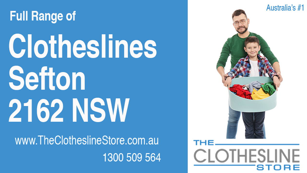 Clotheslines Sefton 2162 NSW