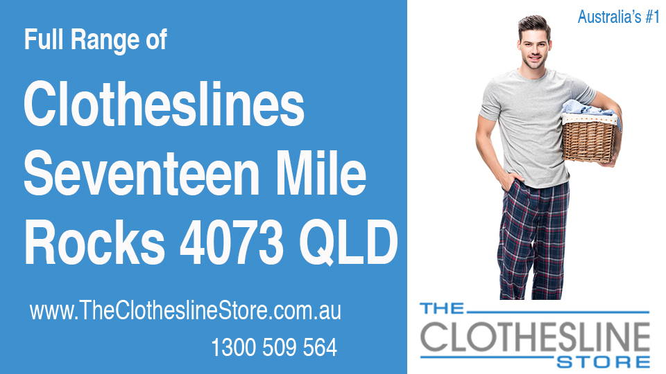 New Clotheslines in Seventeen Mile Rocks Queensland 4073