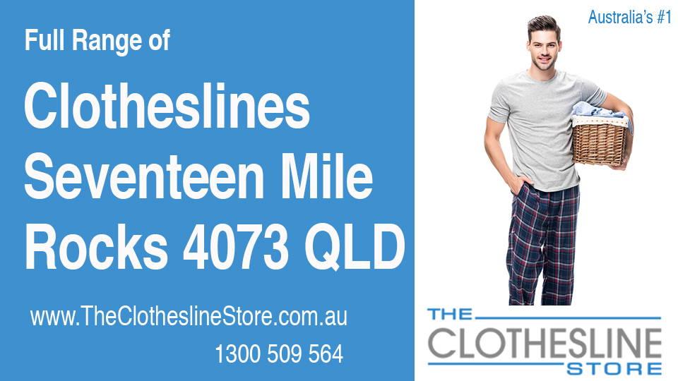 New Clotheslines in Seventeen Mile Rocks Queensland 4073