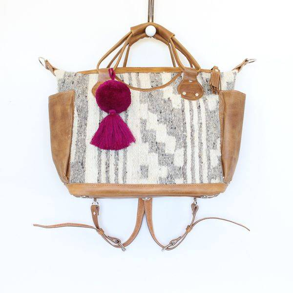 Guatemalan Convertible Wool Bag