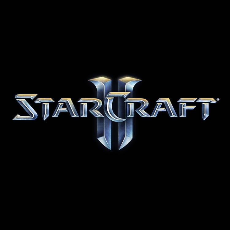 Starcraft 2 Logo.