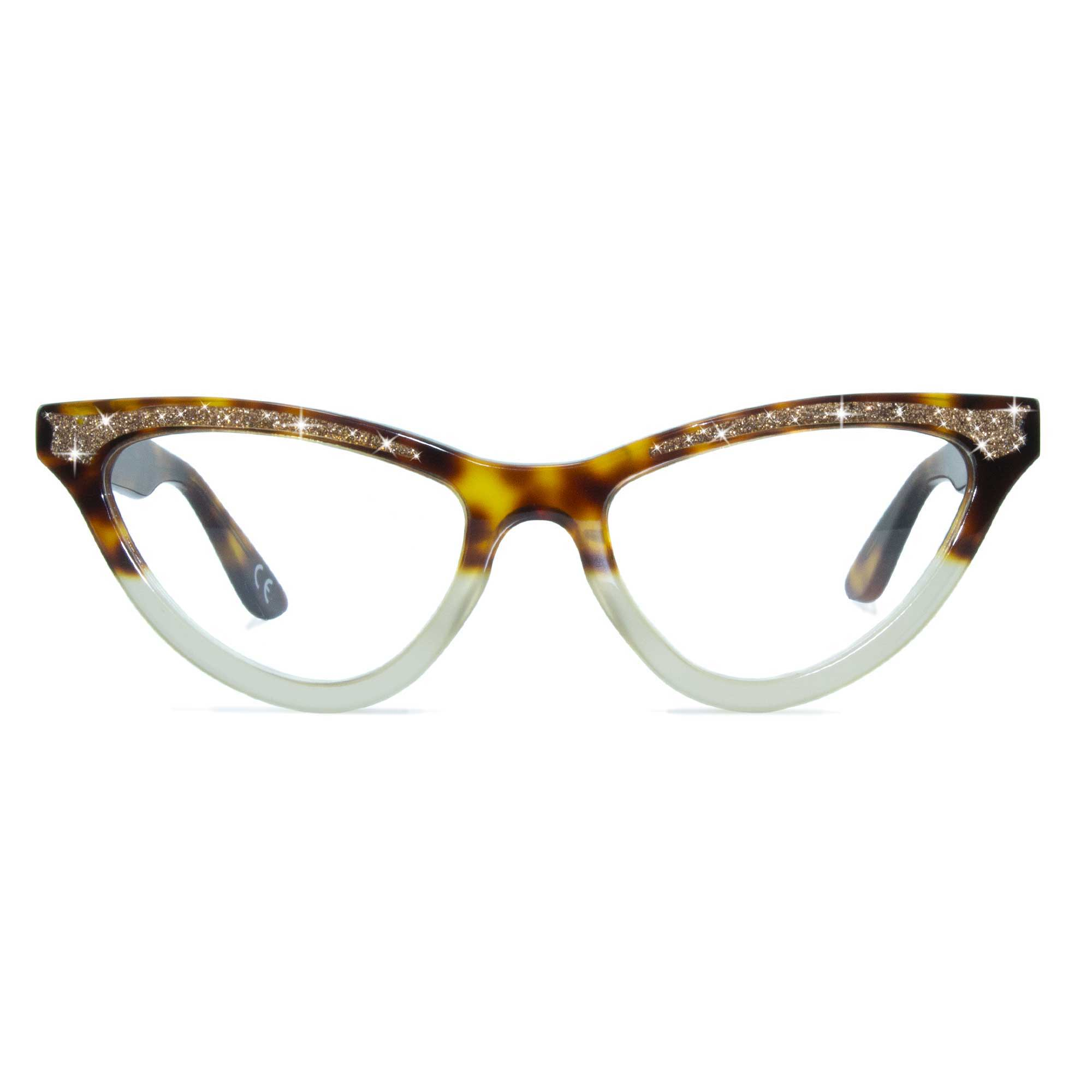 Joiuss maryloo tortoiseshell cat eye glasses
