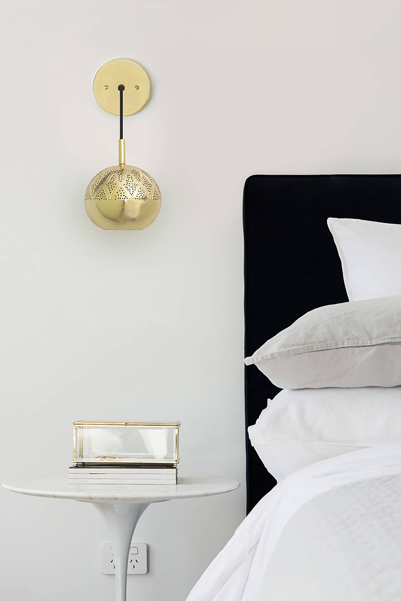 NUR WALL SCONCE LIGHTING - GOLD $ 550