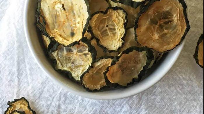 Keto Cucumber Chips