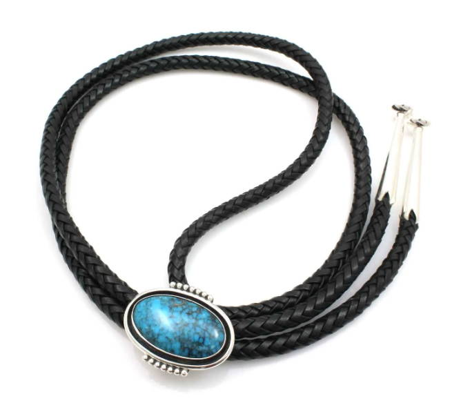 Ray Tracey Jewelry. Bolo Tie. Native American Jewelry. Sorrel Sky Gallery. Santa Fe Gallery