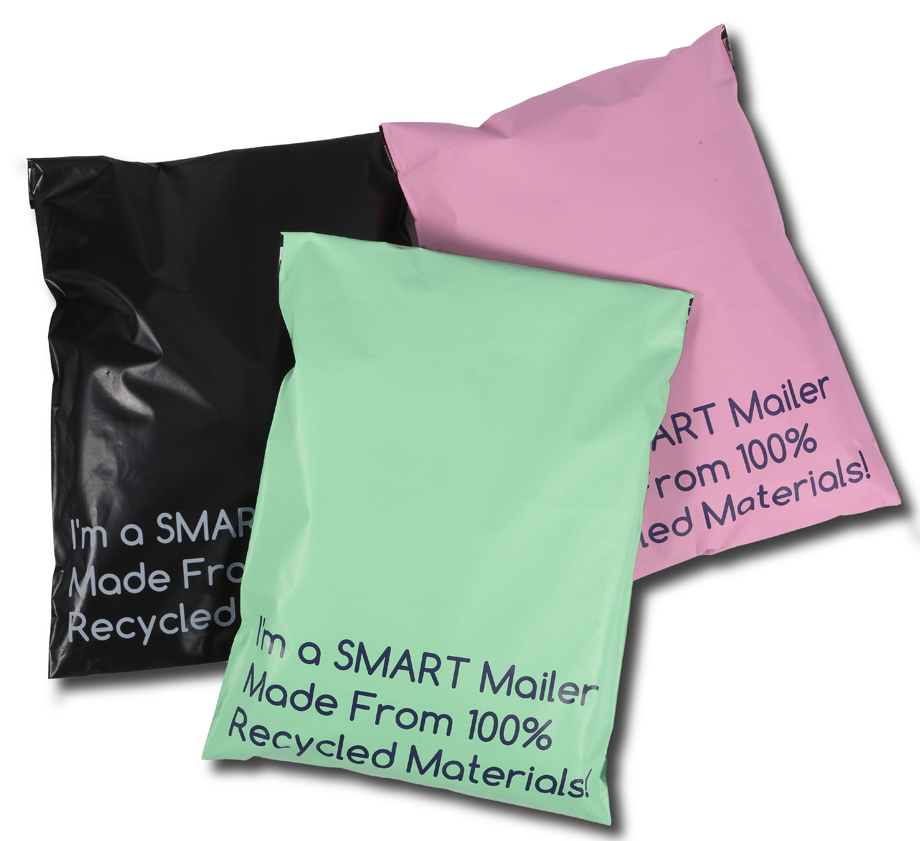 Black Green and Pink Mailers