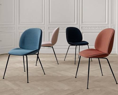 GUBI Beetle Upholstered Dining Chair