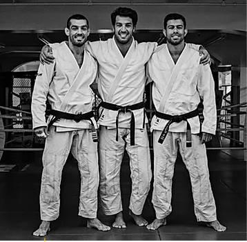 GGJJ Co-founders FABIO COELHO, GREGOR GRACIE, RAFAEL COSTA