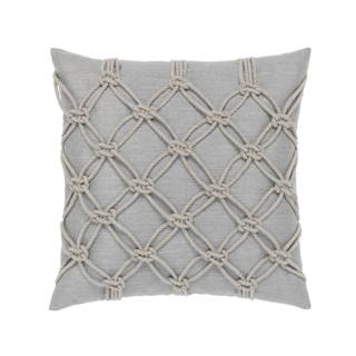 ELAINE SMITH PILLOWS GRANITE ROPE PILLOW >