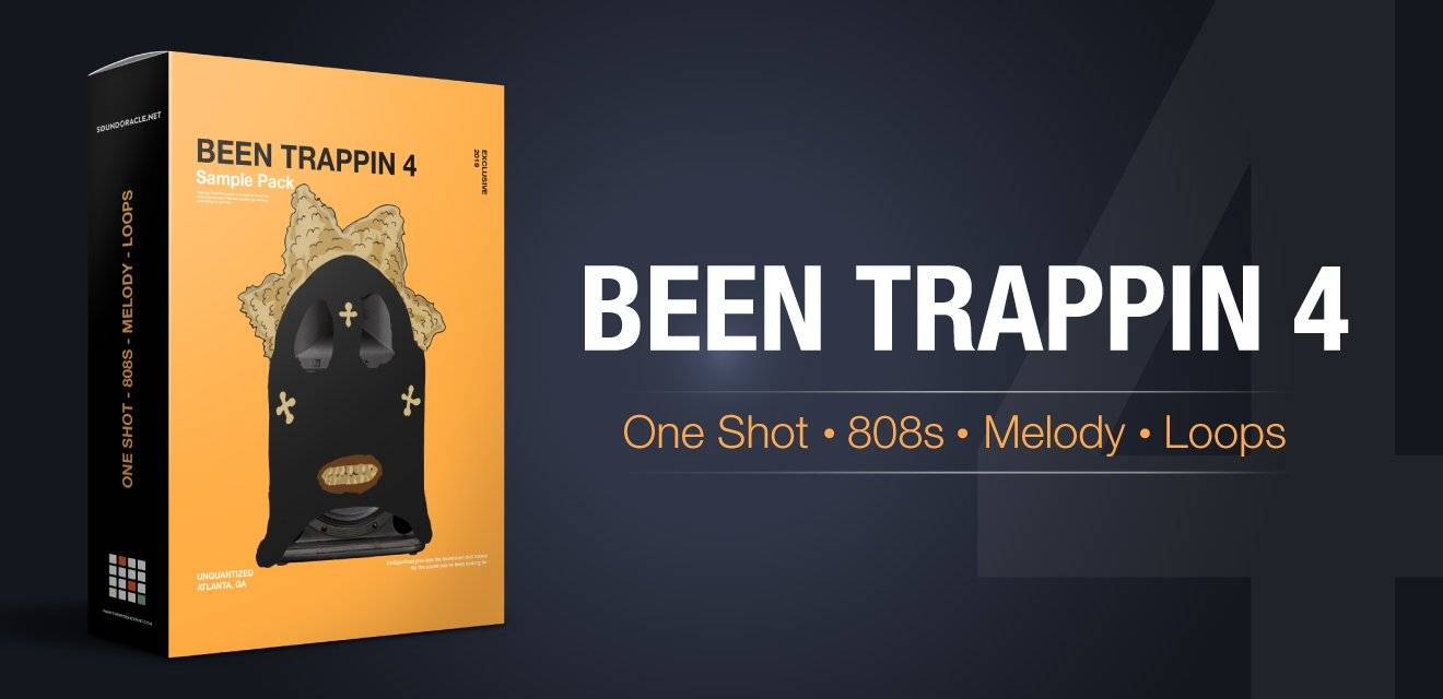 SoundOracle Sound Kits-Been Trappin 4 (Unquantized)-Trap Sample Packs for Hip Hop Instrumentals