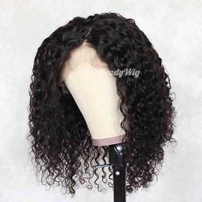 wet n wavy human hair wigs shoulder length short hair wig 13x4 lace front,13x6 lace front, full lace wig