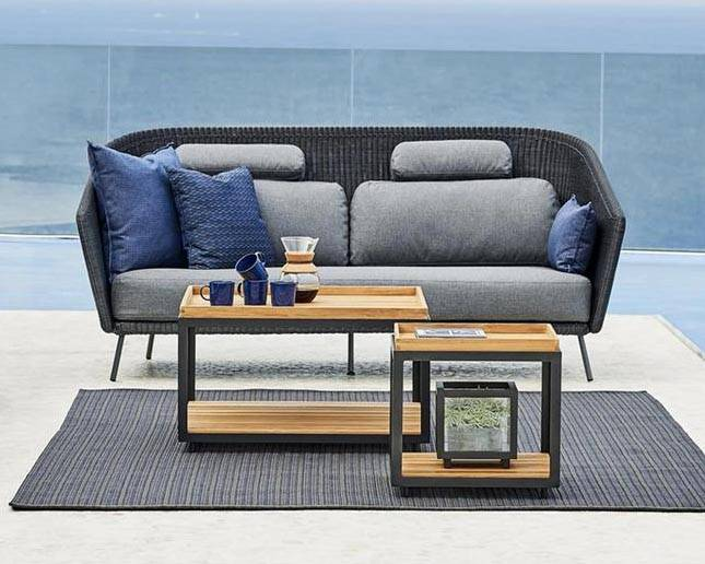 Cane-line Large Level Coffee Table